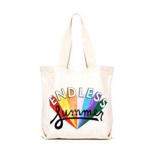 NWT ban.do Endless Summer Canvas Tote Bag